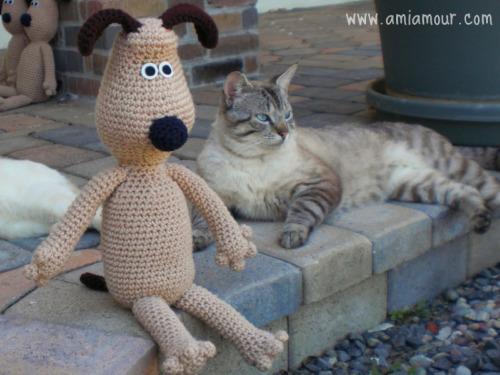 Gromit Amigurumi Pattern »