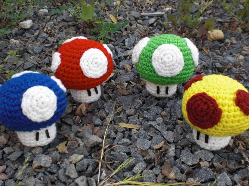Amigurumi Mushroom Crochet Patterns : Yet Another Mario Mushroom Pattern